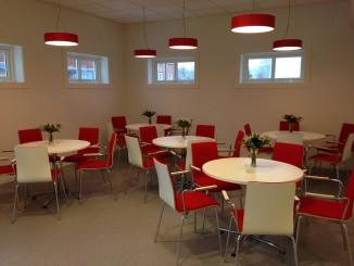 Nye stoler i cafeterian