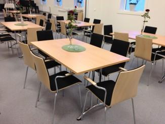 Nye stoler i møtesaler