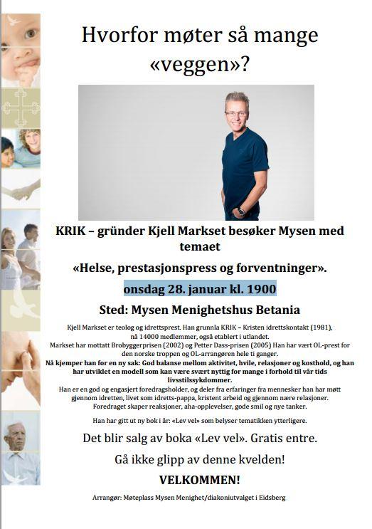 KRIK – gründer Kjell Markset