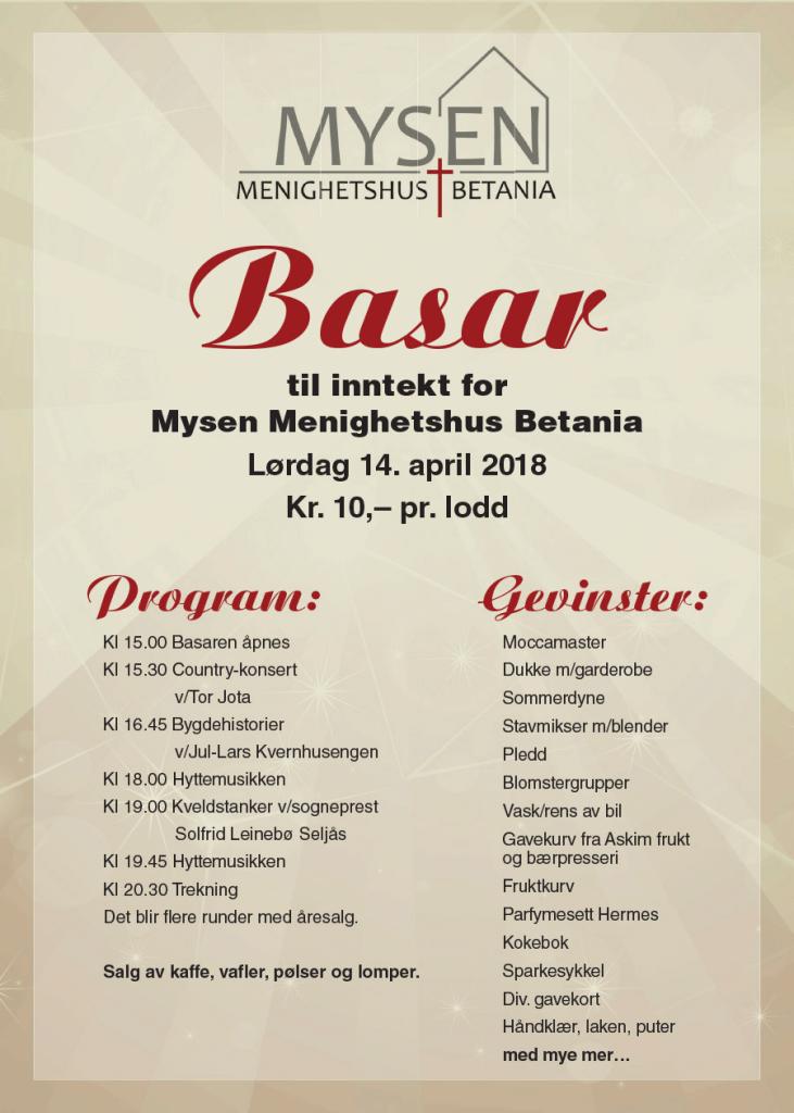 Plakat Basar 2018